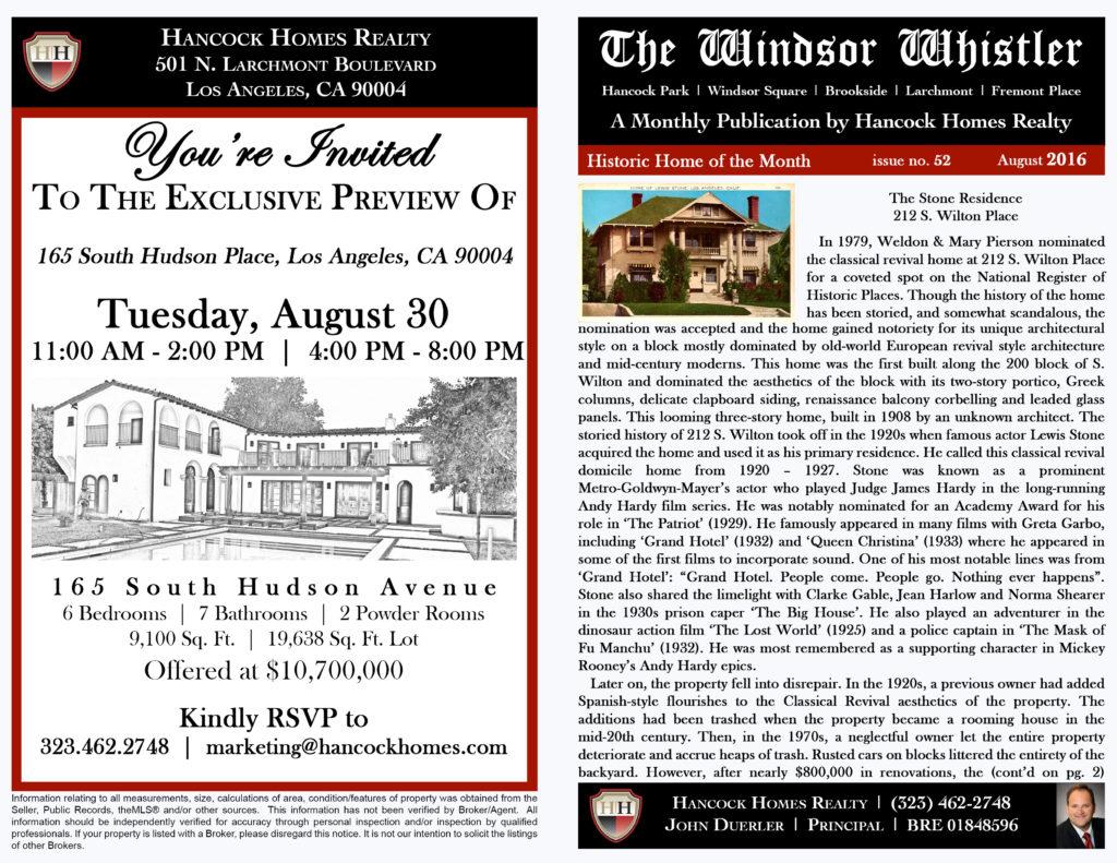 The Windsor Whistler